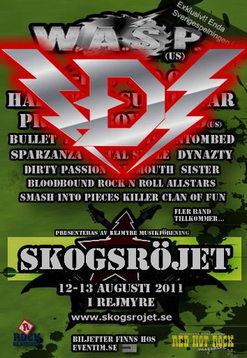 Dynazty at Skogsröjet 2011