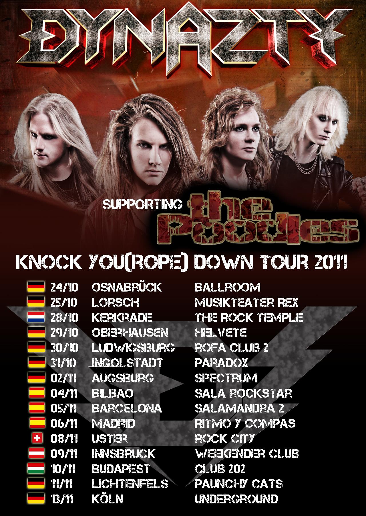 Dynazty to tour Europe