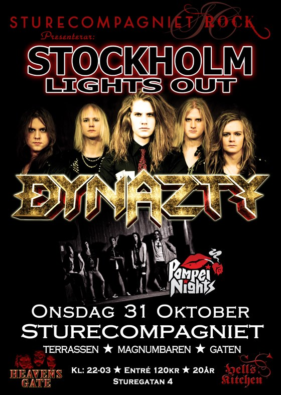 Stockholm Lights Out Flyer